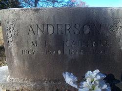 Catherine <i>Milton</i> Anderson