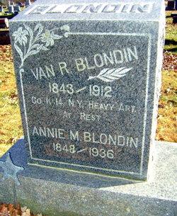 Annie M <i>Payne</i> Blondin