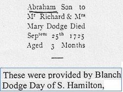 Abraham Dodge