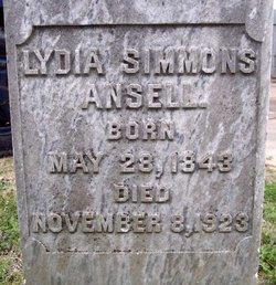 Lydia <i>Simmons</i> Ansell