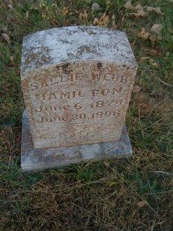 Sallie <i>Webb</i> Hamilton