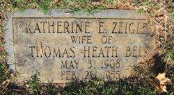 Kathrine E. <i>Zeigler</i> Belk
