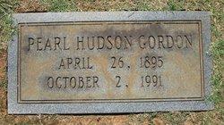Pearl <i>Hudson</i> Gordon