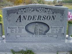 Margaret <i>Hatch</i> Anderson