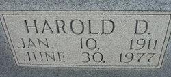 Harold Devore Adams, Sr