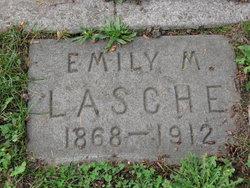 Emily M <i>Hamlin</i> Lasche