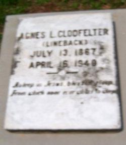 Agnes L. <i>Lineback</i> Clodfelter