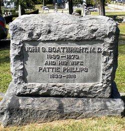 Dr John Guerrant Boatwright