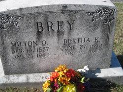 Bertha K <i>Frank</i> Brey