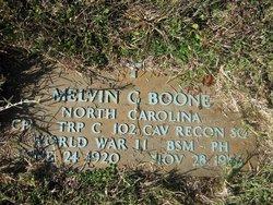 Melvin G Boone