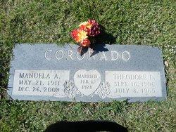 Manuela <i>Alderete</i> Coronado