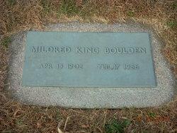 Mildred <i>King</i> Boulden