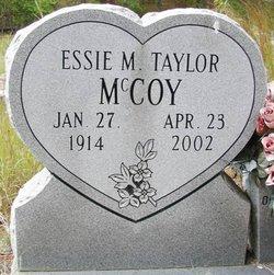 Essie M <i>Taylor</i> McCoy