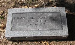 Elizabeth Duke <i>Maxwell</i> Killian