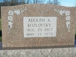 Adolph A. Kozlovsky