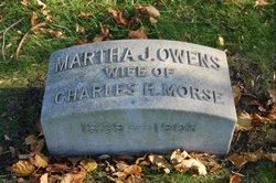 Martha J <i>Owens</i> Morse