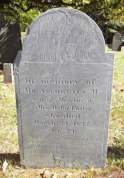 Archelaus Morrill Foster