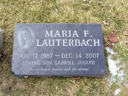 LCpl Maria F. Lauterbach