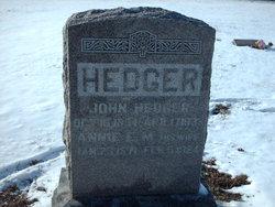 Anna Eldia <i>Hussey</i> Hedger