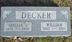 Amelia Jane Jennie <i>Decker</i> Hanley