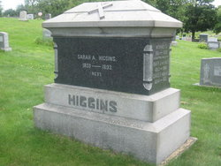 Sarah A. <i>Preston</i> Higgins