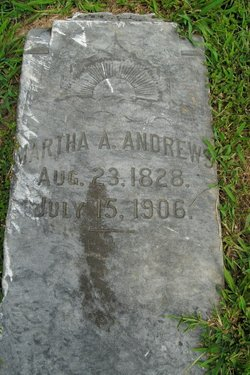 Martha Ann <i>McClain</i> Andrews