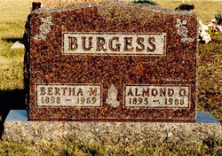 Bertha Mae <i>Ault</i> Burgess