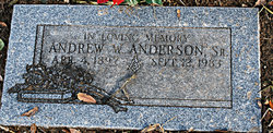 Andrew W. Anderson, Sr