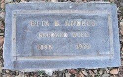 Etta <i>Bell</i> Andrus