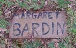 Margaret Bardin