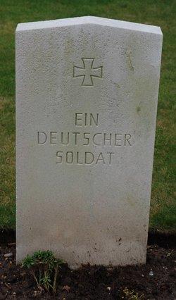 German Soldier Unknown