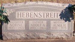 Alma H Hebenstreit