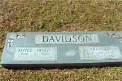 Frances Ruth <i>Nettles</i> Davidson