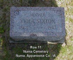 Viola Violet <i>Frazelle</i> Moore Sexton