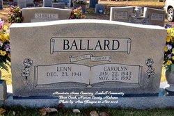 Caroline <i>Davis</i> Ballard
