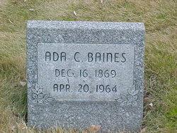 Ada C. Baines