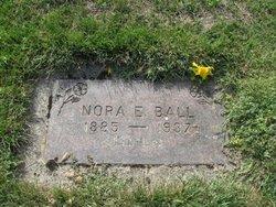 Nora Ellen <i>Baley</i> Ball