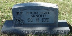 Bertha Jewel <i>Goode</i> Arnold