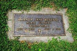 Amanda Jane <i>Baker</i> Benefiel