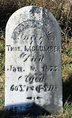 Martha J. <i>Havens</i> McCumber