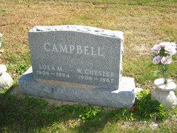 Lola M <i>Berlet</i> Campbell