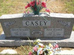 Adolph Benjamin Bus Casey