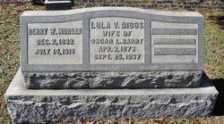 Lula Virginia <i>Diggs</i> Barry