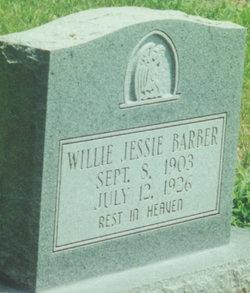 Willie Jessie Barber