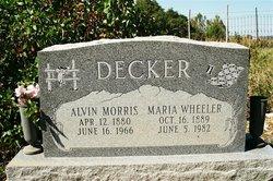 Alvin Morris Decker