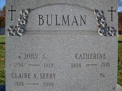 Catherine <i>McCarthy</i> Bulman