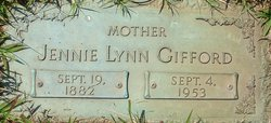 Jennie Lynn <i>Carroll</i> Gifford