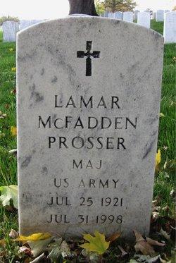 Lamar McFadden Prosser