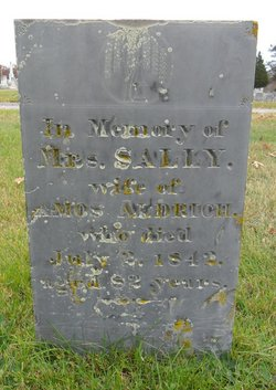 Sally <i>Cook</i> Aldrich
