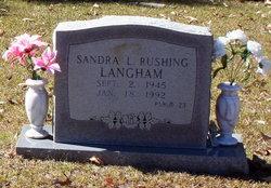 Sandra Lorraine <i>Rushing</i> Langham